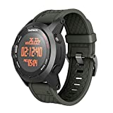 ANCOOL Compatible with Fenix 2 Bands Soft Silicone Watch Bands Replacement for Fenix 2 Smartwatch(Olive Green)