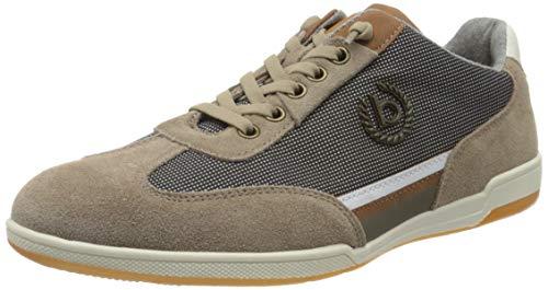 bugatti Herren 321726031400 Sneaker, Taupe, 45 EU