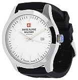 Swiss Alpine Military by Grovana 7055-1833SAM - Reloj de pulsera para hombre, color negro