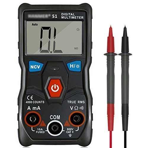 ZJN-JN multímetro inteligente medición completamente automática voltímetro digital prueba eléctrica probadores de voltaje