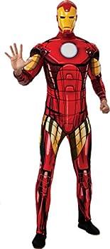 Rubie s Men s Marvel Universe Better Adult Iron Man Costume Multi Standard