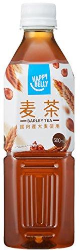 Amazon Happy-Belly 麦茶 500ml×24本 [9511]