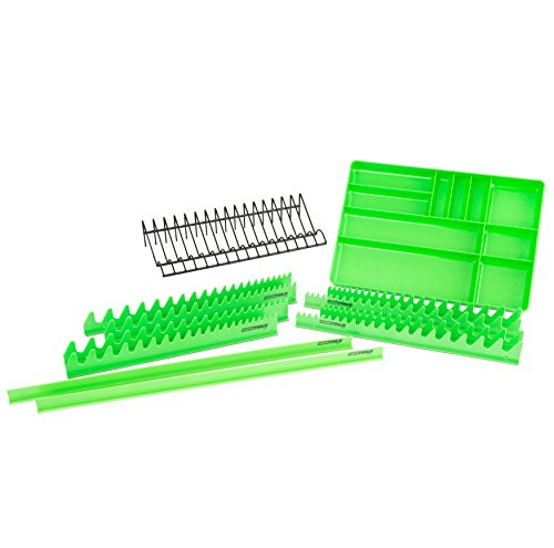 OEMTOOLS 22189 12 Piece Tool Organizer Set | Professional Mechanic Tool Chest Organizer | Drawer...
