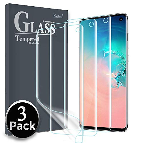 case friendly screen protector for galaxy s10