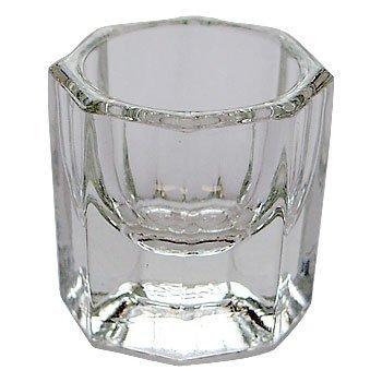 ATNails Acrylic Liquid Glass Crystal Bowl Cup Dappen Dish Nail Art Powder