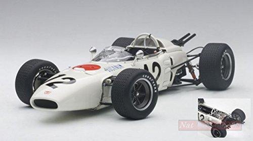 AUTOart AA86598 Honda RA272 R.BUCKNUM 1965 N.12 5th Mexico GP 1:18 Die Cast Compatible con