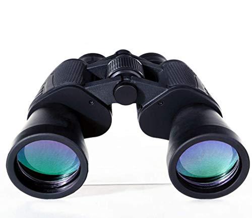 ZUKN 10X50 Prismáticos Impermeables Óptica Gran Angular Bak4 Prisma de Vidrio Prismáticos Profesionales Telescopio de Alta...