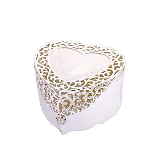 Caja de joyería de fantasía Al estilo europeo de Corea princesa hueco de joyería de la caja de joyería Caja de almacenamiento mano linda de la joyería caja caja caja de regalo caja de almacenamiento d