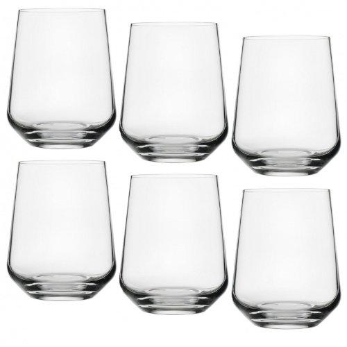 Iittala Essence Wasser Gläser Set 6tlg, transparent 35cl