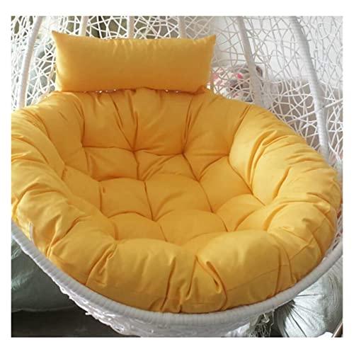 YLKCU Cojines para sillas Cojín para sillas Columpios, Cojines para sillas Colgantes con Forma de Huevo, Cojín para Asientos Columpios Respaldo Grueso de la Silla Colgante Nido