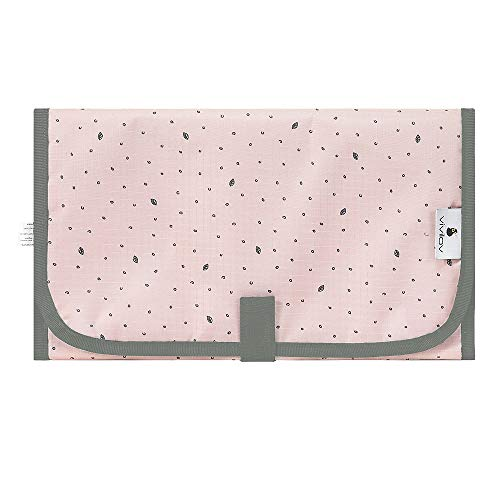 Portable Changing Pad,Travel Changing Pad,Diaper Changing Pad for Baby Waterproof and Lightweight (Pink)