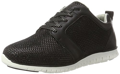 BULLBOXER Damen Sneakers, Schwarz (Black), 40 EU