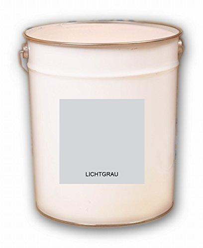 20 Liter grau Lichtgrau hellgrau Acryl Dachfarbe Dachanstrich Ziegelfarbe Dachbeschichtung Metalldach Blechdach Acrylat Basis