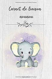 Carnet de liaison Nounou - Parents: Cahier de tran