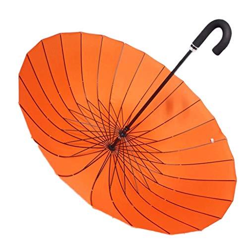 BIAOYU Lámpara de pie nórdico retro marrón plisada resina tallada gruesa interruptor de pie lámpara de pie para sala de estar 60 pulgadas paraguas para hombres y mujeres (color: naranja, tamaño: L)