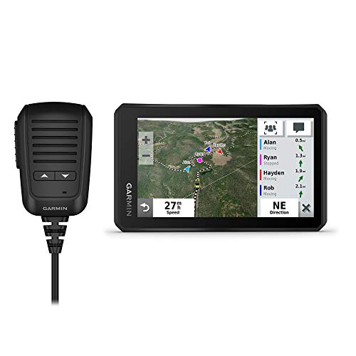 Garmin Tread Powersport Off-Road Navigator with Group Ride Radio, Group Tracking and Voice Communication, 5.5' Display, 010-02406-00