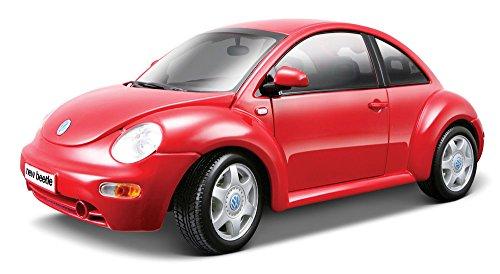 Maisto Die Cast 1:18 Scale Metallic Red Volkswagen New Beetle