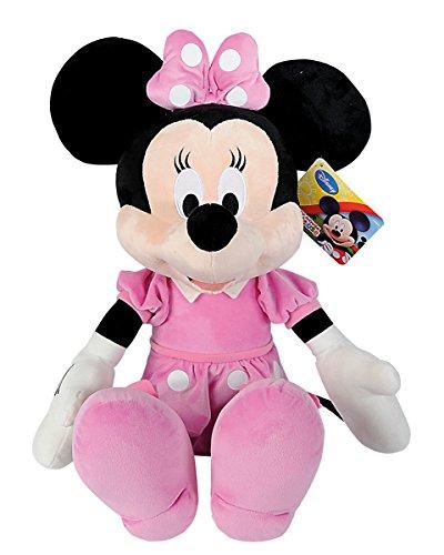 Simba 6315878711 PRO Disney Mickey Mouse Club House Minnie, Plüschtier, für Kinder ab den ersten Lebensmonaten geeignet, 61cm