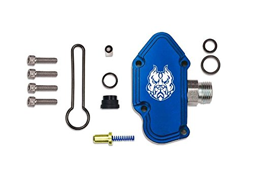 Sinister Diesel Blue Spring Kit with Billet Spring Housing - Fuel Regulator Kit - Ford Blue Spring Kit 6.0 Powerstroke – Fast Install For 2003-2007 Ford Powerstroke 6.0L