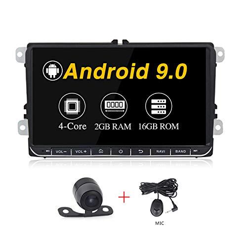 Android 9.0 system 9 inch Car stereo for Volkswagen VW Passat Golf MK5 Jetta Tiguan T5 Skoda Seat GPS Car Navigation GPS Radio