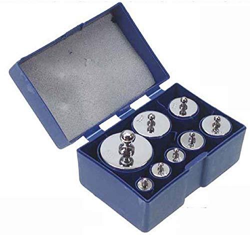 分銅 1kセット 1000g はかり 秤用 10g 20g 20g 50g 100g 100g 200g 500g 計1000g 8個Set 箱入り 測定器 おもり 天秤 てんびん