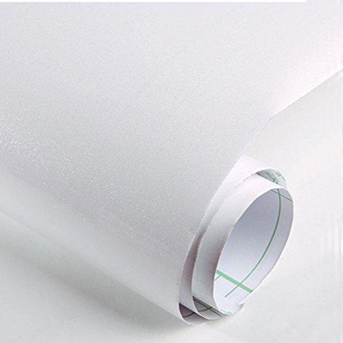 KJH21 - Adhesivo para renovación de muebles con perlado, No nulo, Blanco, 60cm*2m