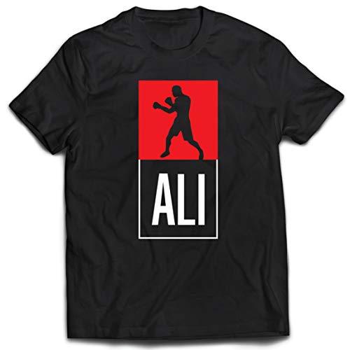 lepni.me Camisetas Hombre Equipo de Entrenamiento Combate De Boxeo Ropa de Ejercicio y Fitness (Medium Negro Multicolor)