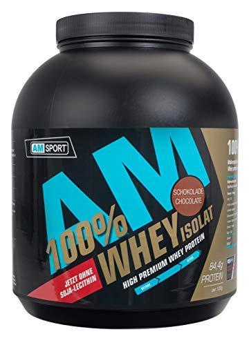 AM Sport High Premium Protein 1800g Schokolade - 100% Molkenprotein-Isolat