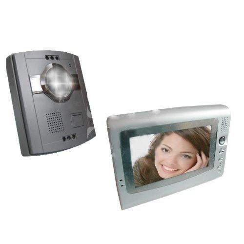 VIDEOCITOFONO INTERFONO MONITOR COLORI 7'LCD TELECAMERA 6 LED