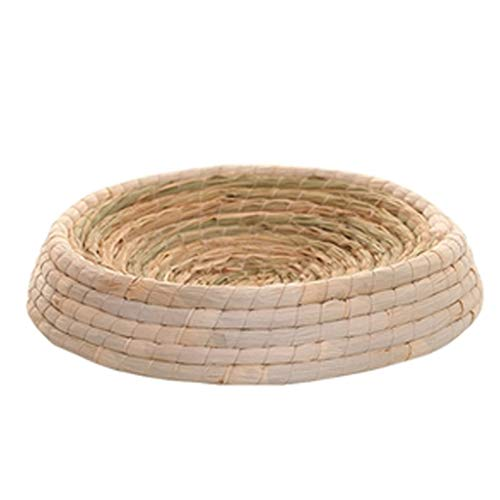 ChangDe-- Cat Scratching Board Large Cat Litter, Weaving Wear-resistant Cat Toy Supplies Rattan Nest Wicker Cat Bowl Claw Claw Cat Catching Box, Five Sizes. Pet Supplies (Size : S)