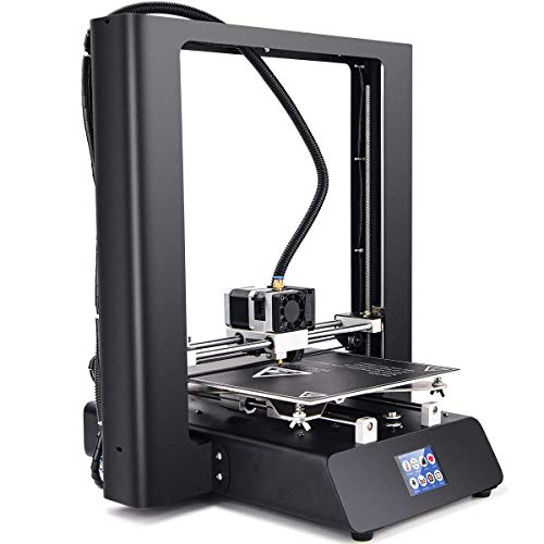 ZD-ONE 3D Printer 99% Assembled Sheet Metal Wireless Pro 3D Printer with Offline Print Fast Heat Aluminum Heatbed Direct Drive Extruder for Soft Filament, 2.5' Touch Screen 220x250x250mm
