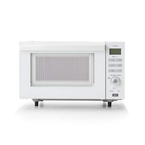 ツインバード 電子レンジ オーブンレンジ フラット 赤外線センサー オーブン機能 18L DR-E852W