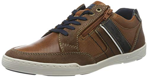 ara Herren TORBEN 1116803 Sneaker, Braun (Cognac-Navy, Cognac 07), 41 EU(7 UK)