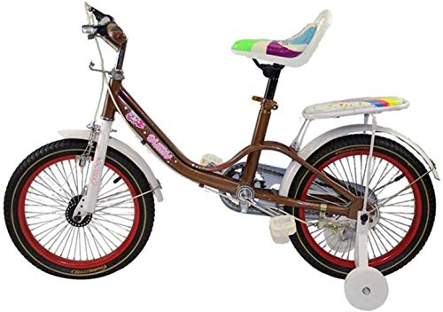 MJY Bike Children's Bike with Training Wheels, 12-Inch Boys and Girls Children 2-5 Years Old Riding Bicycles 7-4