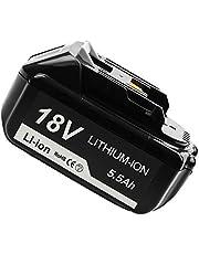 Hochstern BL1860B-1 18 Volt LXT Batterij Vervangende Batterij voor BL1860 BL1840 BL1840B BL1830 BL1830B BL1815 BL1815B LXT-400 met LED Indicator