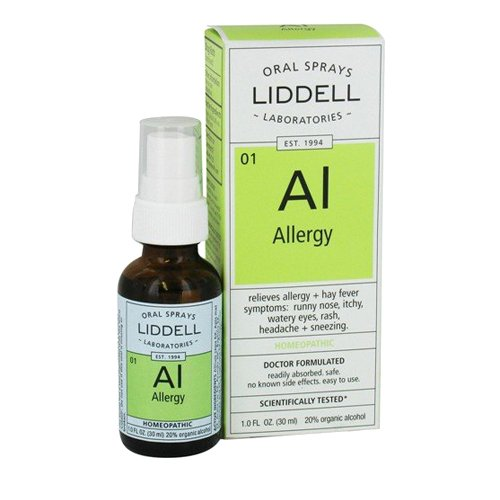 Liddell Homeopathic Oral Allergy Spray, 1 Ounce