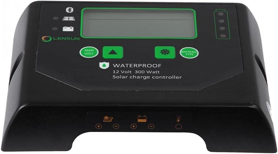 Lensun Waterproof Brand Cheap Sale Venue 12V 300W Solar Charge Regulator Price reduction wit Controller