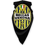 Hellas Verona Fc Logo Cálido Cuello Bufanda Turbante Headgear Cara Toalla Cuello Protección a prueba de viento Pasamontañas Sombrero