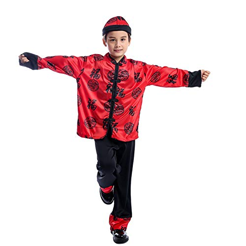 Disfraz de actuación Nacional de Estilo aristocrático Chino para niño, Fiesta de Juego, Disfraz de Cosplay de Halloween(Size:XL)