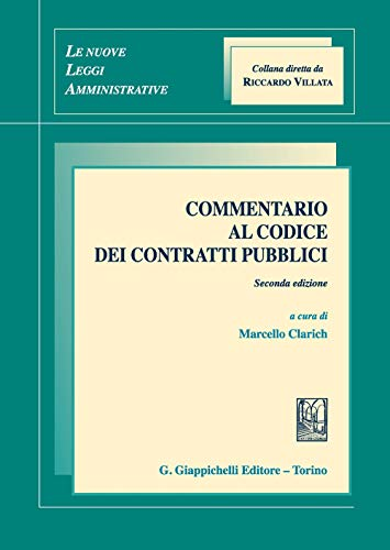 Commentario al codice dei contratti pubblici