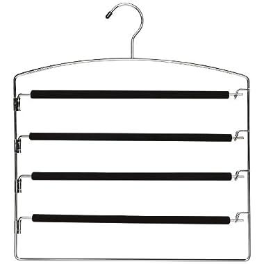 Whitmor Slack Hanger, Chrome and Foam