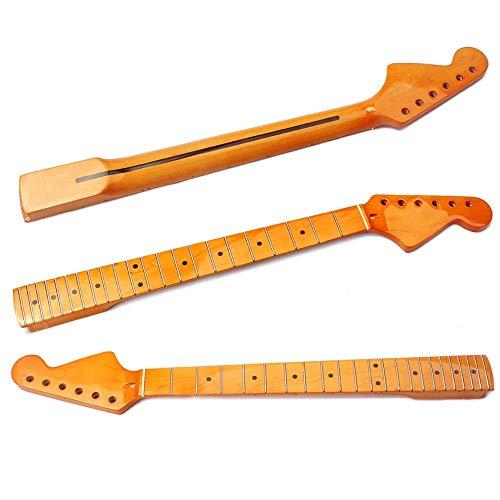 22 Bünde Ersatz Ahorn Gitarre Griffbrett Griffbrett