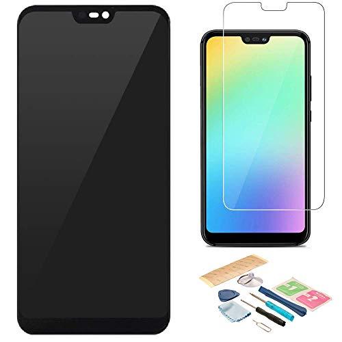 Pantalla LCD Táctil Asamblea Repuesto Compatible con Huawei P20 Lite Negro con Herramientas + Película Templada Huawei P20 Lite