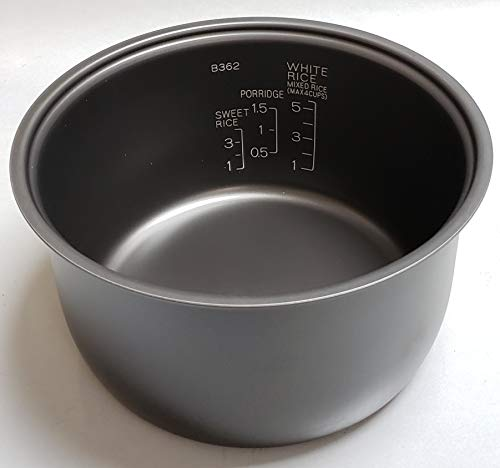 Zojirushi Replacement Nonstick Inner Cooking Pan for Zojirushi NS-TSC10/NL-AAC10 (5.5 Cup Model) Rice Cooker
