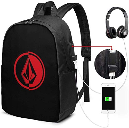 ボルコム スケ ビジネスリュック USB充電ポート リュックサック 大容量 リュック バックパック PCバック 多機能 耐衝撃 通勤 通学 出張 旅行 男女兼用 大学生 高校生