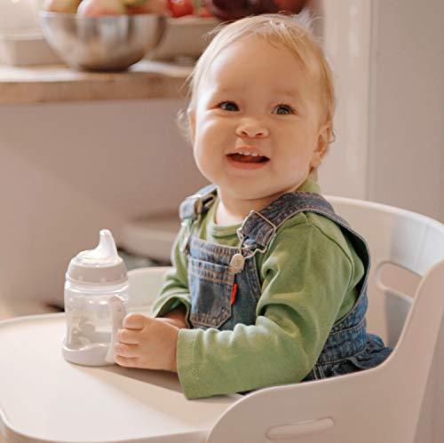 NUK Learner Cup Trinklernbecher, auslaufsicher, hochwertiger Edelstahl, langlebig und hygienisch, 125ml, 6-18 Monate, Rosa (Girl) - 8