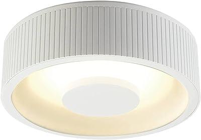 OCCULDAS. plafonnier rond. blanc. 30 SMD LED 3000K. 21W