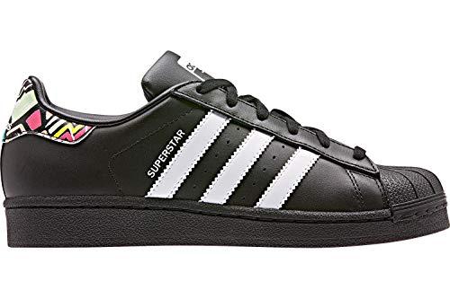 adidas Sneaker Superstar J Schwarz Jungen - 37 EU