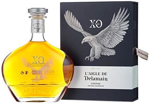 Delamain XO 1er Cru L'Aigle de Grande Champagne Cognac mit Geschenkverpackung  (1 x 0.7 l)