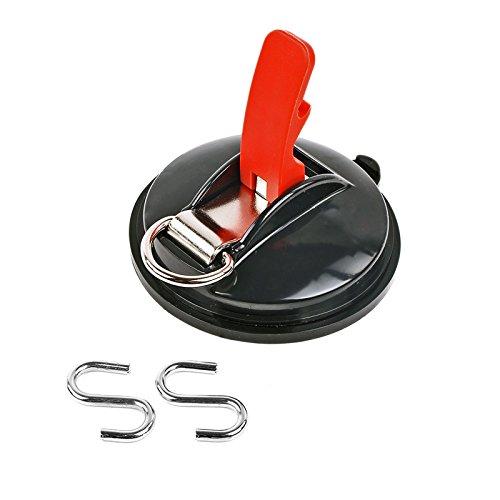 ProPlus Saugnapf Befestigung max. 10 kg mit S Ring Klappsauger für Vorzelte, Sonnensegel, Planen und Fahrzeugabdeckungen